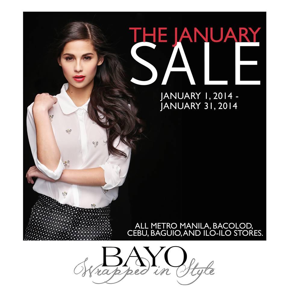Bayo January Sale January 2014