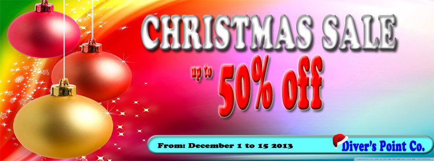 Divers Point Co Christmas Sale December 2013