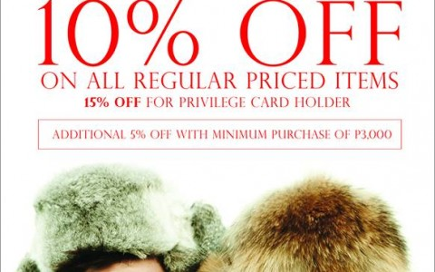 Giordano Post Holiday Blowout Sale December 2013