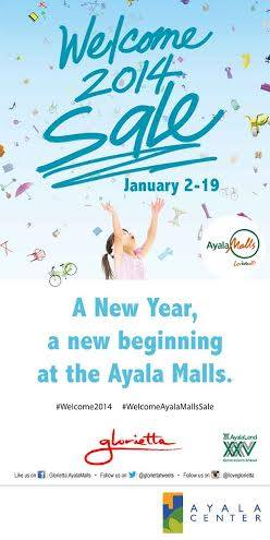 Glorietta Welcome 2014 Sale January 2014