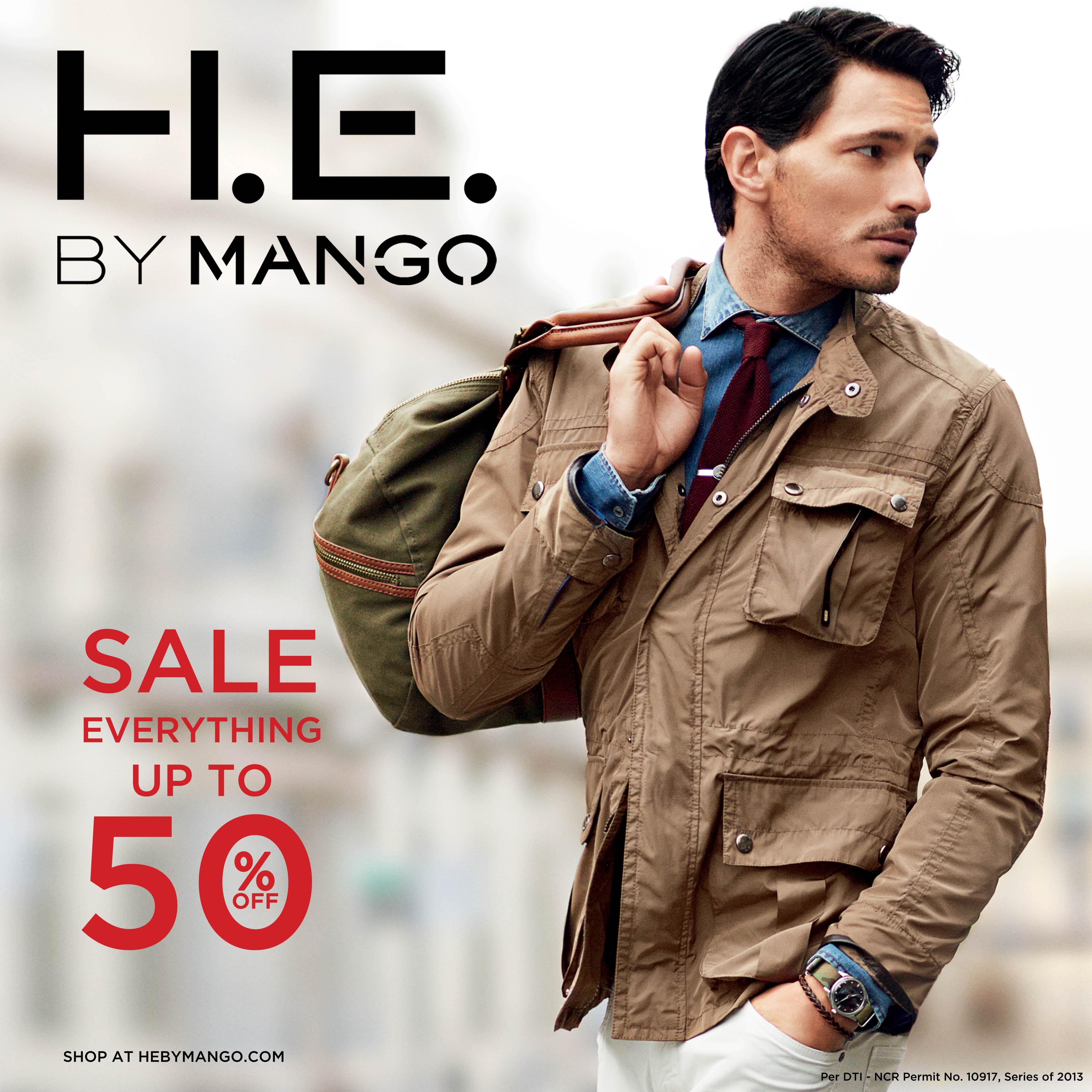 H.E. By Mango End Of Season Sale December - January 2013