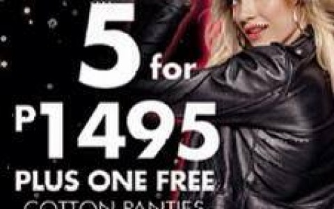 La Senza Buy 5 Get 1 Free on Cotton Panties December 2013