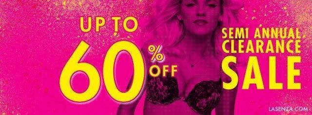 La Senza Semi Annual Sale December 2013 - January 2014