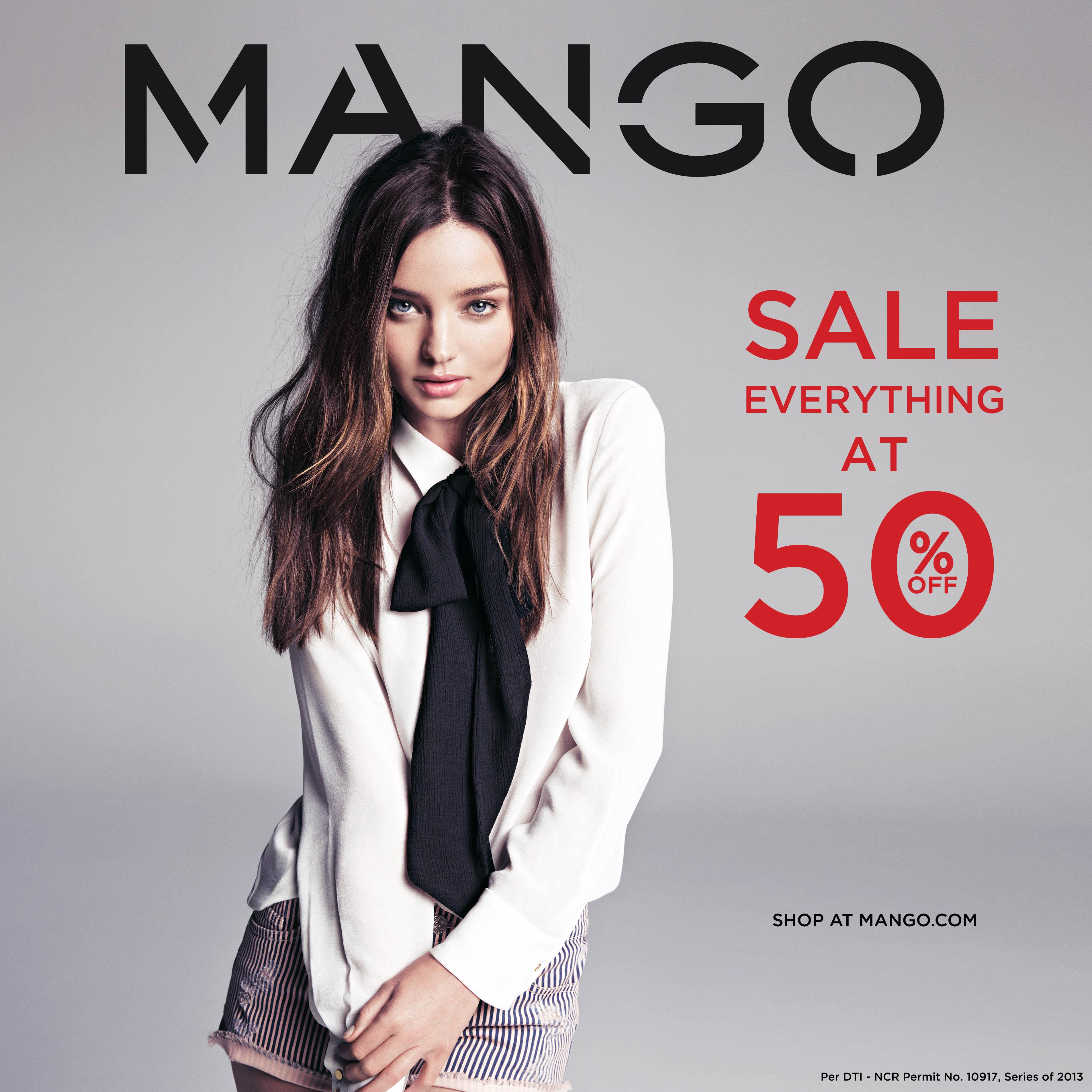 Mango, H.E. by Mango, & Mango Touch End of Season Sale December - January 2013