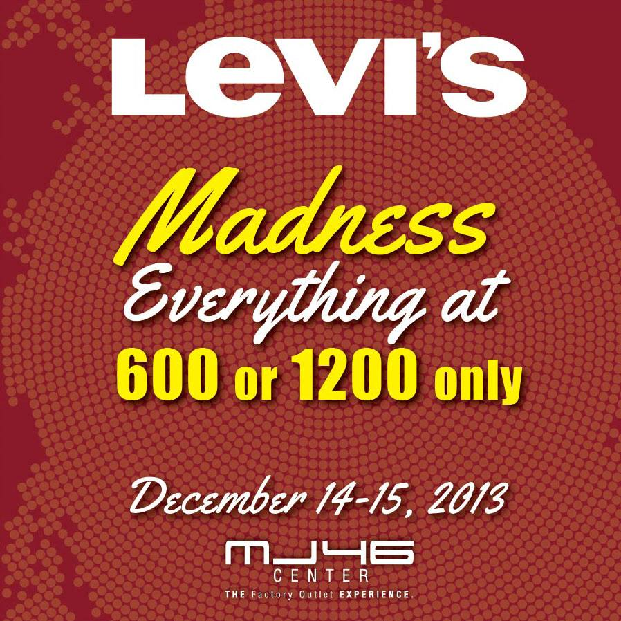 MJ46 Center Levis Madness December 2013