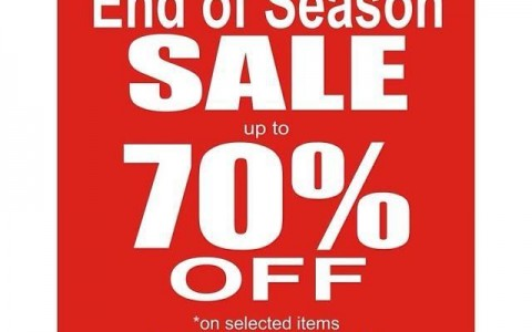 Mossimo End of Season Sale December 2013 - January 2014