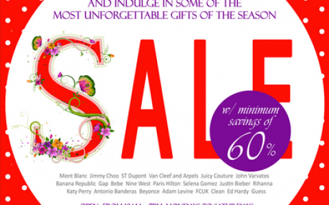 PBPI Perfume Sale November - December 2013
