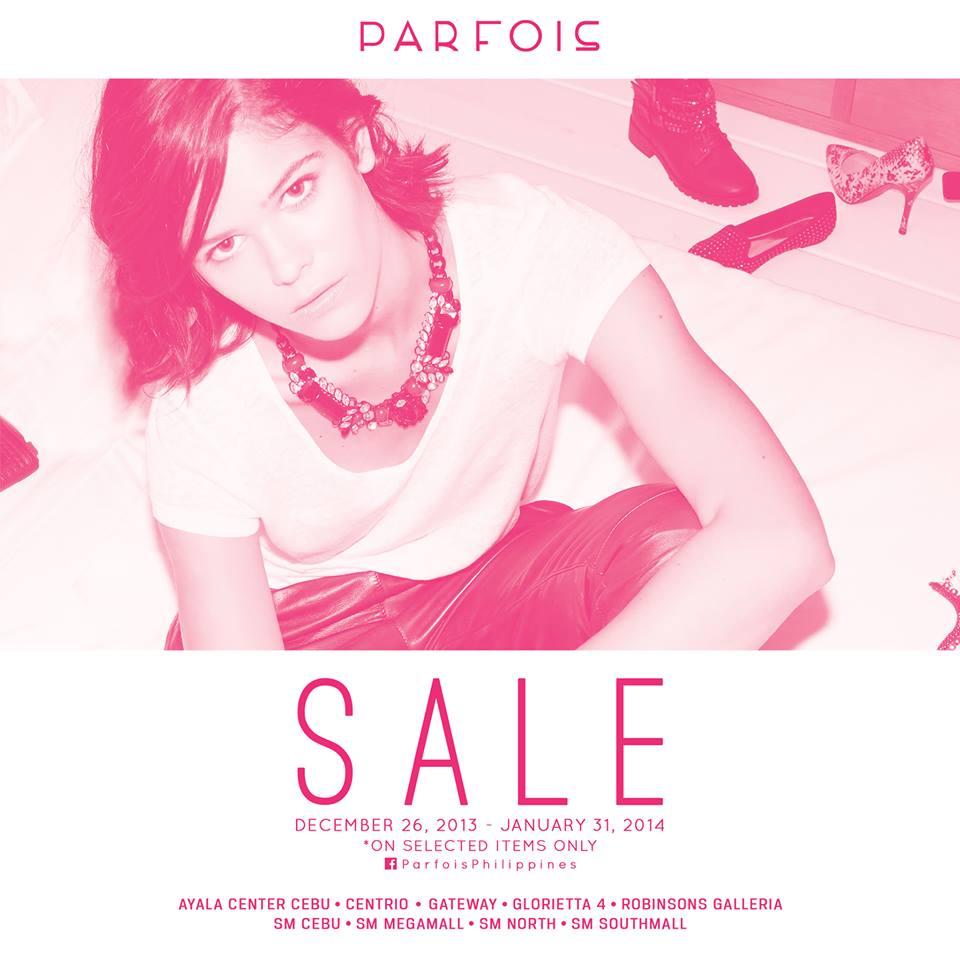 Parfois End of Season Sale December 2013 - January 2014