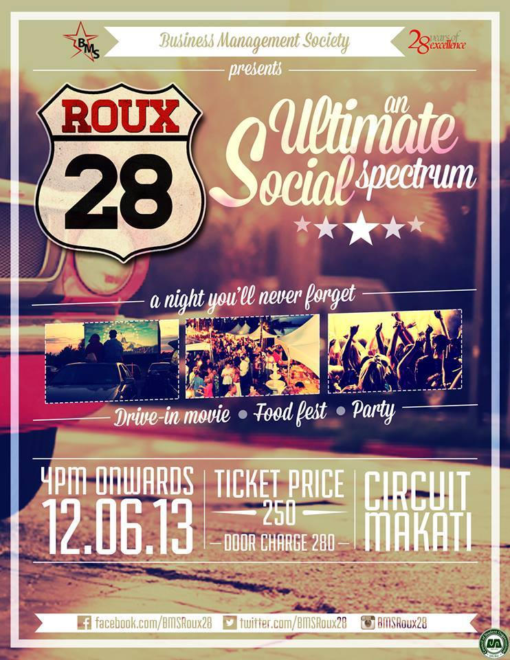 Roux 28 @ Circuit Makati December 2013