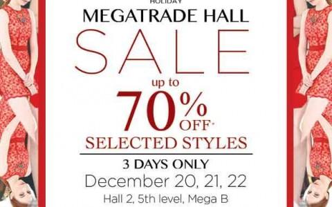 SM Ladies Fashion Holiday Sale @ SM Megatrade Hall December 2013