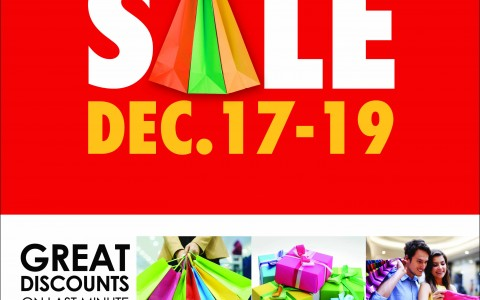 SM Supermalls Pre-Christmas Sale December 2013
