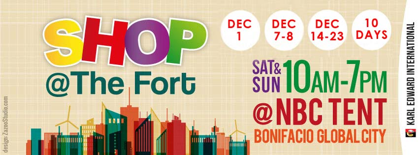 Shop @ The Fort @ NBC Tent December 2013