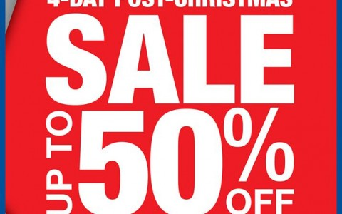 Shopwise Post Christmas Sale December 2013
