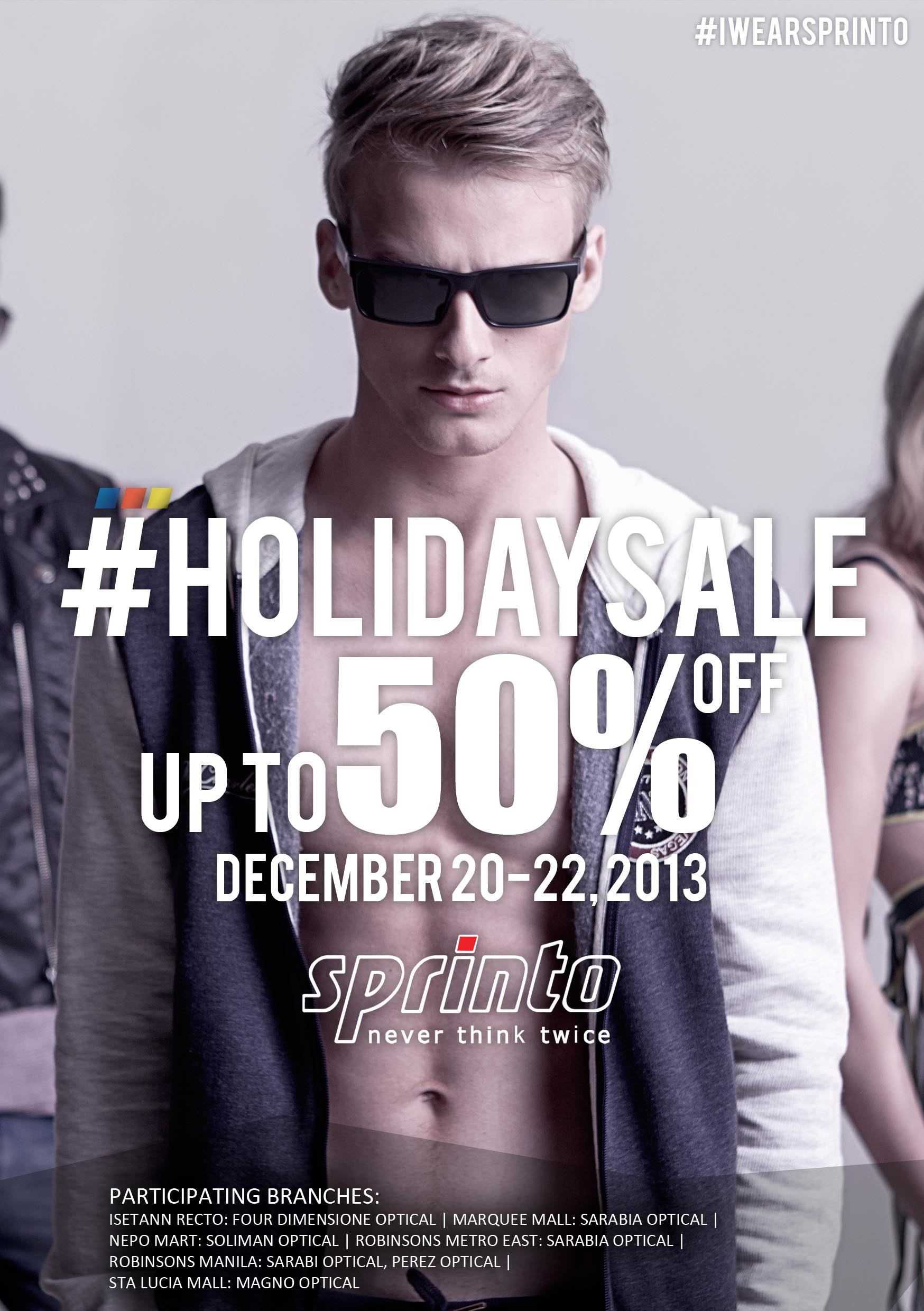 Sprinto Holiday Sale December 2013