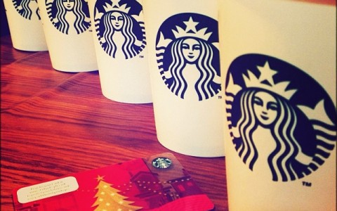 Starbucks Double Star Reward December 2013