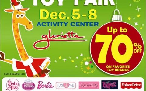 Toys R Us Christmas Toy Fair @ Glorietta December 2013