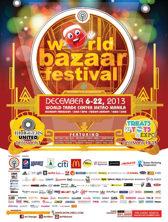 World Bazaar Festival @ World Trade Center December 2013