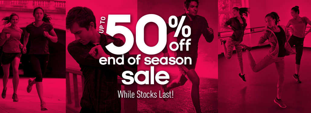 Adidas Online End of Season Sale January 2014