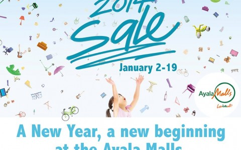 Alabang Town Center Welcome 2014 Sale January 2014