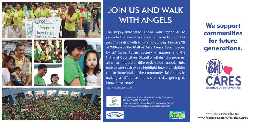 Angels Walk @ SM Mall of Asia January 2014