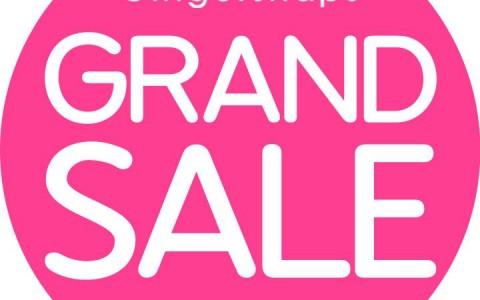 Gingersnaps Grand Sale January - February 2014