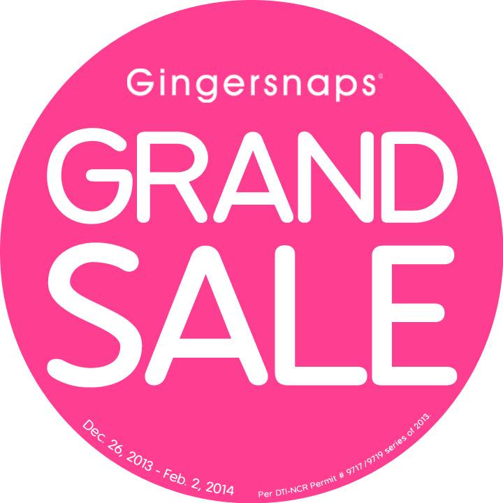 4ab9acf6655ad9 Gingersnaps Grand Sale  until February 2