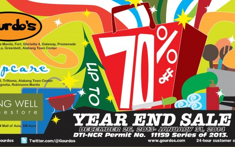 Gourdo's, Sleepcare, Living Well Year-End Sale January 2014