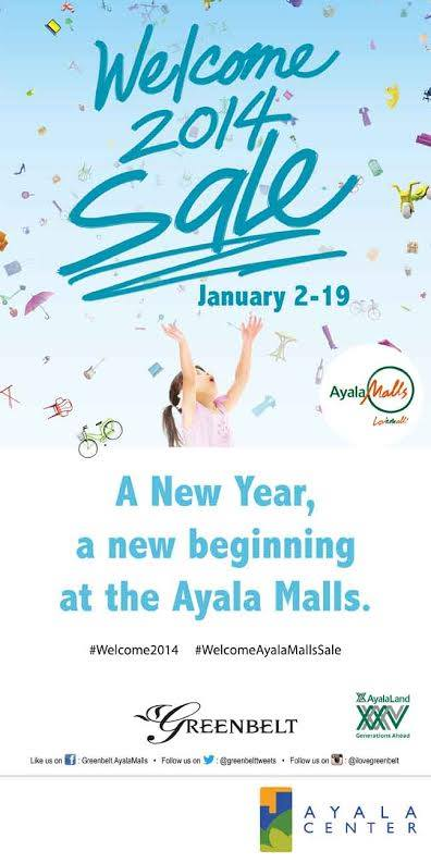 Greenbelt Welcome 2014 Sale January 2014