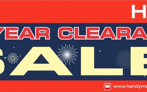 Handyman Clearance Sale January 2014
