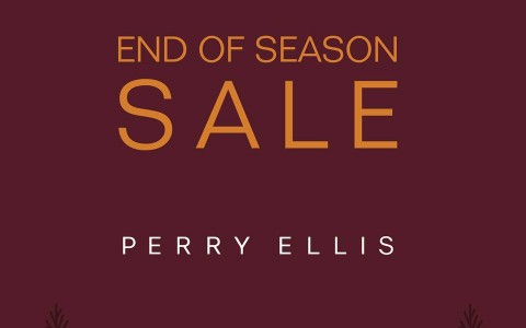 Perry Ellis End of Season Sale January 2014