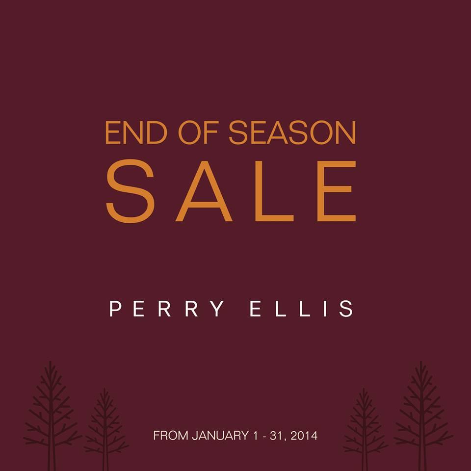 Perry Ellis End of Season Sale January 2014