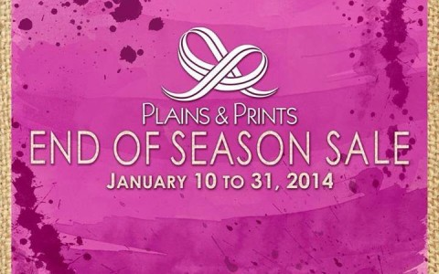 Plains & Prints End of Season Sale January 2014