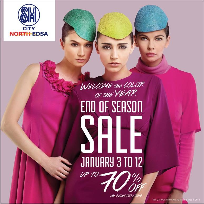 SM City North Edsa End of Season Sale January 2014