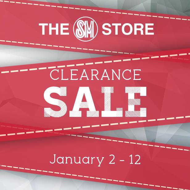 The SM Store Clearance Sale January 2014
