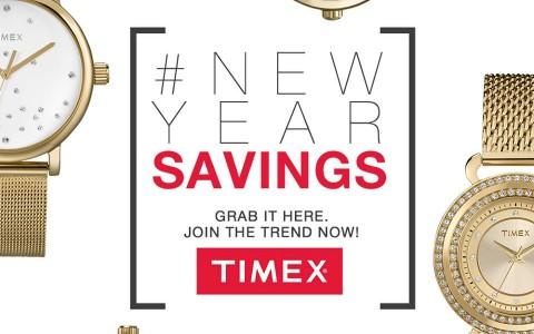 Timex End of Season Sale January - February 2014