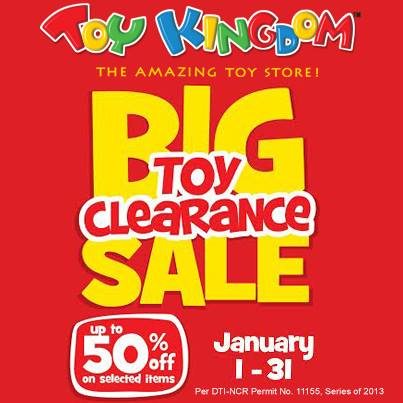 Toy Kingdom Big Toy Clearance Sale January 2014