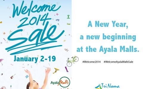 Trinoma Welcome 2014 Sale January 2014