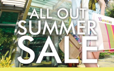 Araneta Center All Out Summer Sale February - March 2014