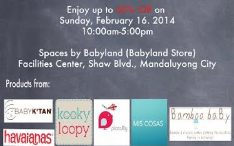Babyland's Garage Sale For A Cause 2 February 2014