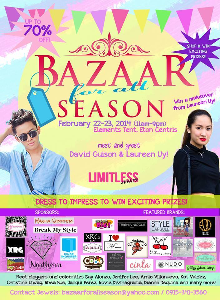 Bazaar For All Season @ Eton Centris February 2014