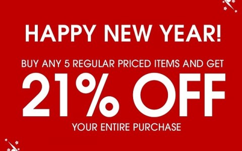 Forever 21 Chinese New Year Special January - February 2014