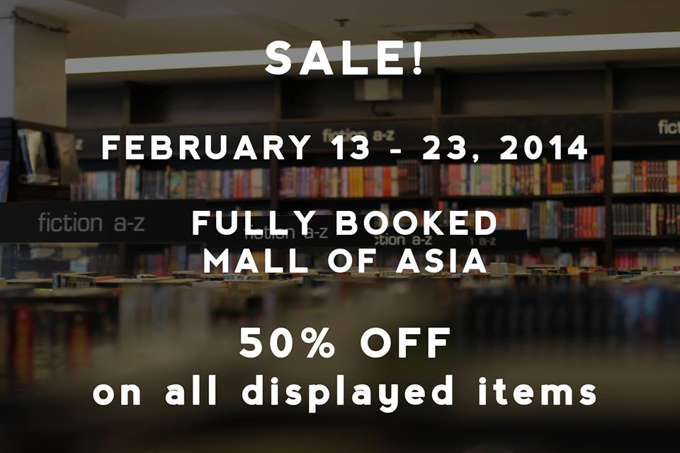 Fully Booked Sale @ SM Mall of Asia February 2014