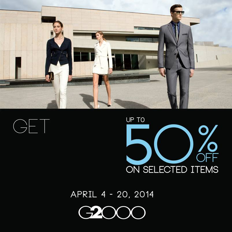 G2000 Mid-Season Sale April 2014