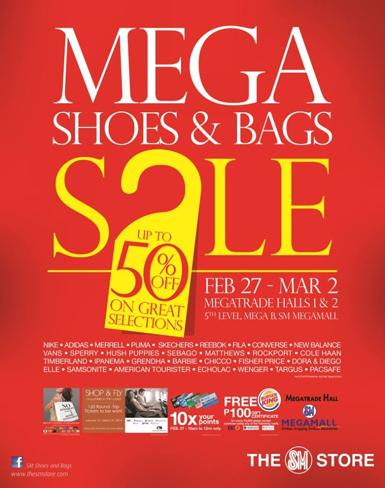 converse sale in megamall