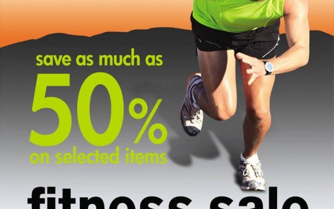 Metro Department Store Fitness Sale February - March 2014