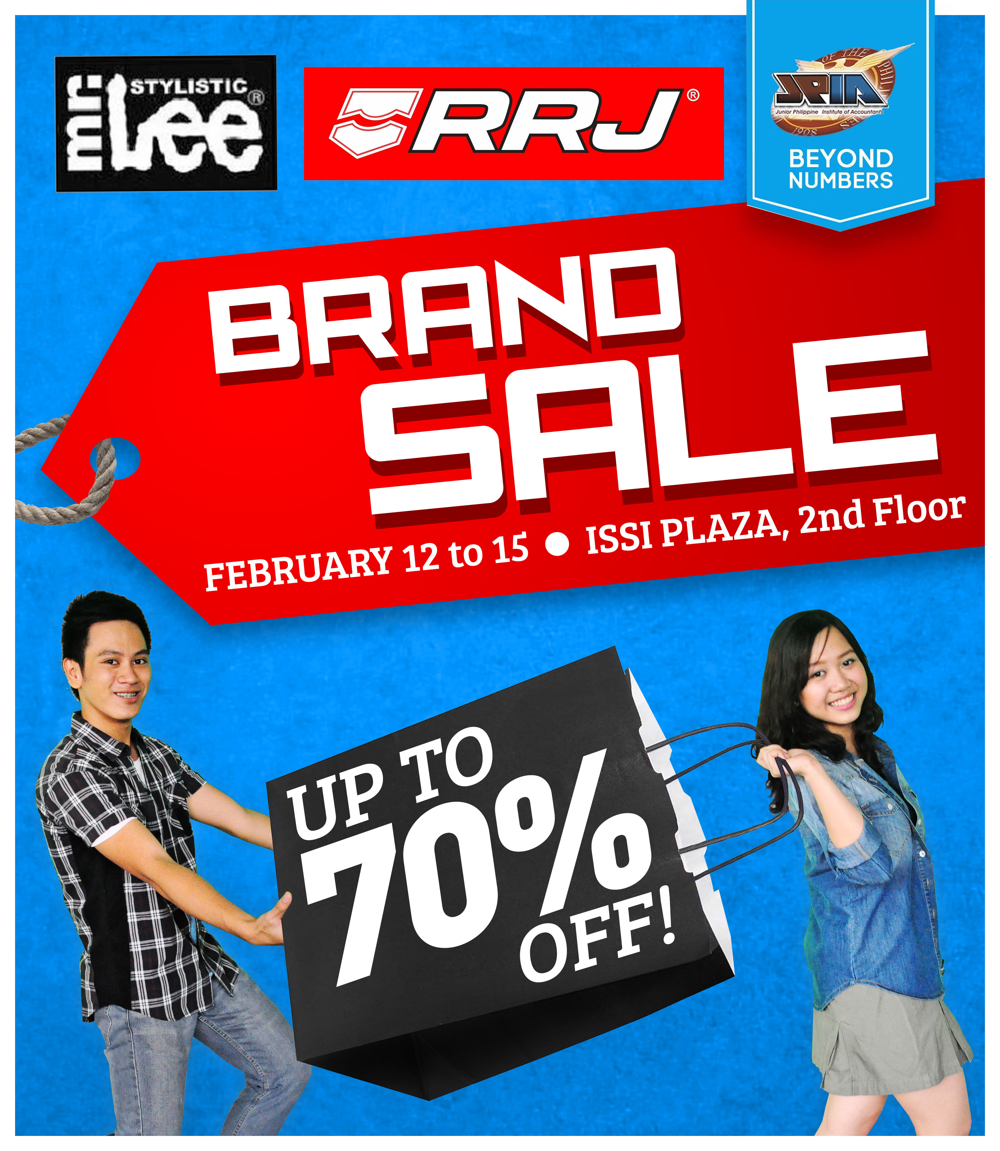 Mr. Lee & RRJ Sale @ ISSI Plaza, UP Diliman February 2014