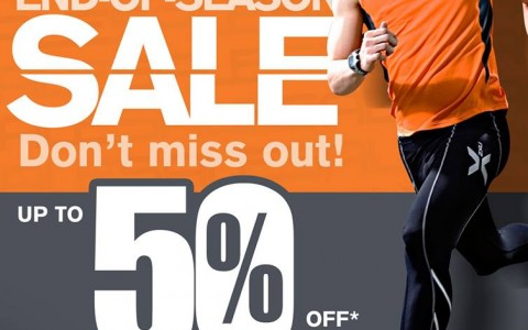 Runnr End of Season Sale January - March 2014