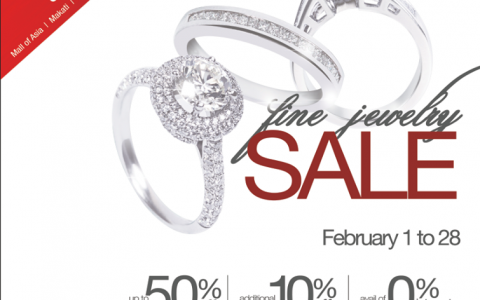 SM Accessories Fine Jewelry Sale February 2014