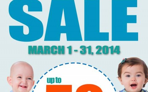 SM Babies Baby Sale March 2014