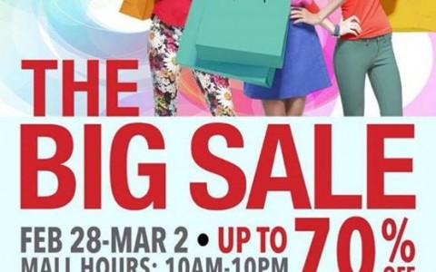 SM Southmall The Big Sale February - March 2014